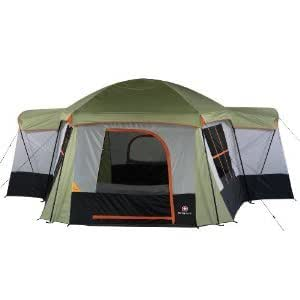 Swiss Gear Montreaux Ten Person Family Dome Tent with Mini Tool Box (fs)