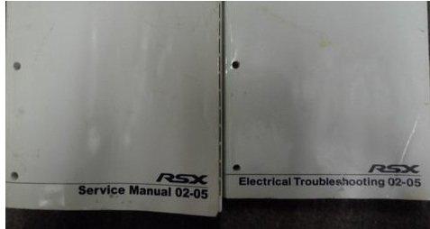 2002 2003 2004 2005 Acura RSX Service Repair Shop Manual SET OEM NEW DUAL YEARS