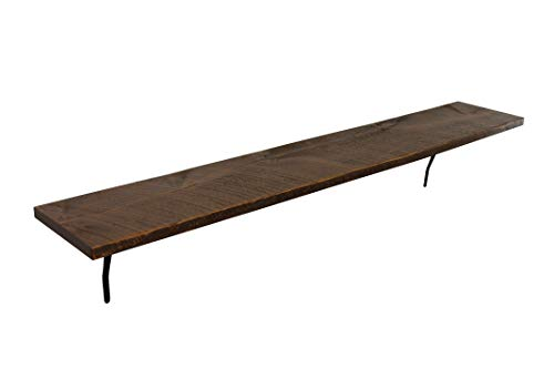 Joel's Antiques & Reclaimed Decor Rustic, Wood Shelf, Pine, 60″ x 10″ x 1″ Brackets, Dishes, Books Review