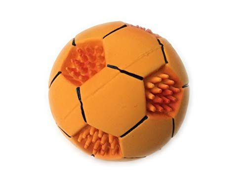 Nibble Pet Chew Sports Ball Squeaky Dog Toy