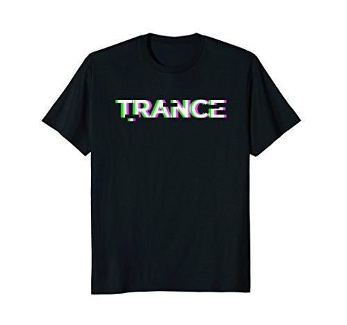 Mens Black TRANCE Music T-Shirt 3XL Black (T-shirts Trance Music)