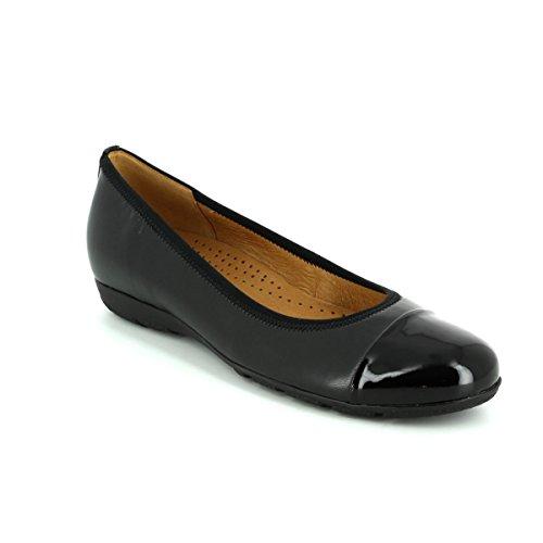 GABOR Gabor Womens Shoe Franklin 74.161 Black 5 lpQOTYUdzX