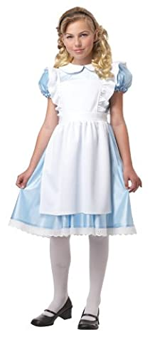 Alice Child Costume Child Medium (8-10) - Alice & Olivia Silk Blouse