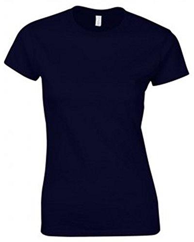 Navy GILDAN Blu T shirt Donna qqvTHzw