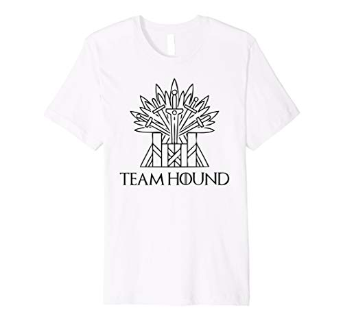 Team Hound for The Throne Shirt Perfect Fan Gift The Hound Premium T-Shirt -
