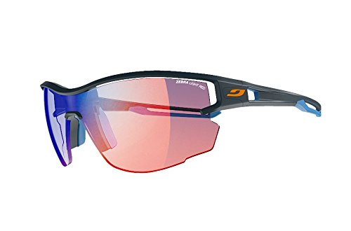 Julbo Aero Sunglasses (Zebra Light - Dark Blue/Blue)