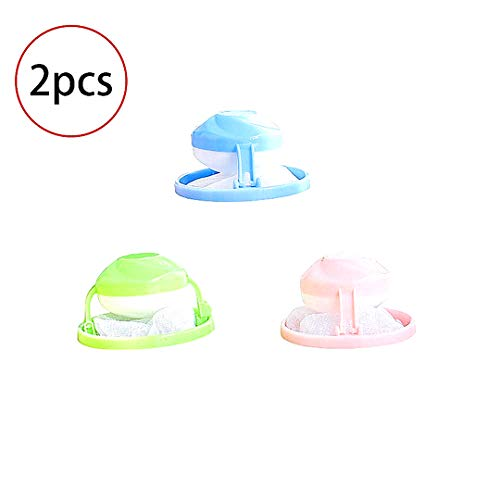 Beito 2 Pieces Household Reusable Washing Machine Floating Lint Mesh Bag...