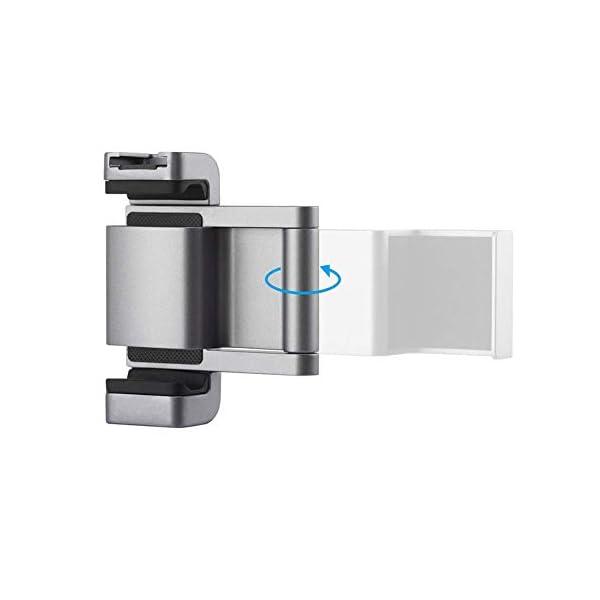 Hensych per PGYTECH per Osmo Pocket/Osmo Pocket 2 Phone Holder +,Porta telefono in alluminio pieghevole Plus Set di parentesi per telefono cellulare (larghezza≤90mm) 6 spesavip