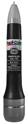 Dupli-Color ACC0427 Brilliant Black Pearl Chrysler Exact-Match Scratch Fix All-in-1 Touch-Up Paint