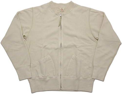 TWO MOON トゥー・ムーン 空紡糸 裏パイル フルジップスウェット 95059
