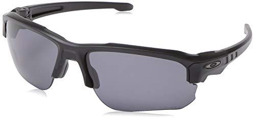 Oakley Men's Speed Jacket Polarized Oval Sunglasses, Black, 67.0 ()
