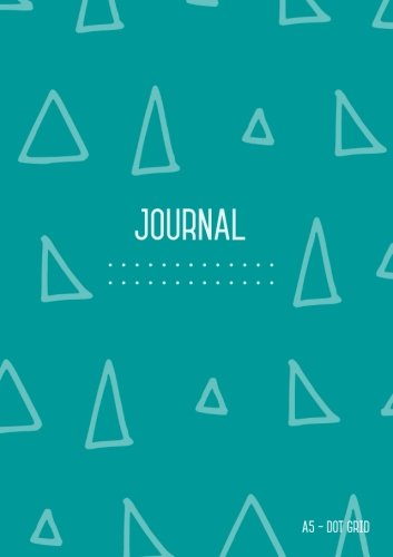 Dot Grid Journal A5: Teal,  Journal Dotted to Write In, Doodling, Dot Matrix Notebook Blank, Cute , Medium, Softcover, Numbered Pages (A5 Journal Diary) PDF