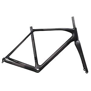 IMUST Carbon Cyclocross Bike Disc Brake Frameset BB86/DI2 Flat Mount
