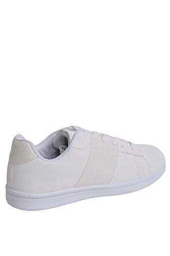 PILOT® Women's Glitter Detail Trainer Pumps in White White s0AlKguD