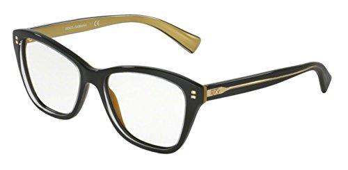 Dolce & Gabbana - DG 3249, Oeil de chat, acétate, femme, BLACK(2955), 53/16/140