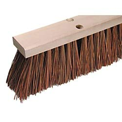 Wilen Palmyra Stalks Street Sweep Broom, - Continental Broom