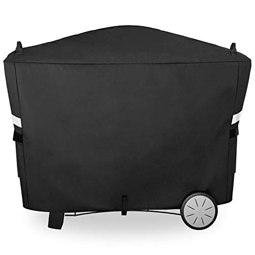 Utheer 7112 Grill Cover for Weber Q2000 Q2200 Q2400 Q300 Q3000 Q3200 Series Grills, 57 x 22.5 x 39 Inch, 600D Waterproof and UV Resistant