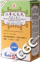 Extrait aigle Bois (Chen Xiang Hua Qi Wan) 200 pills x 12