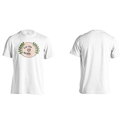 Neue Romantische Rosa Farbe Herren T-Shirt l200m
