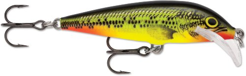 Rapala Scatter Rap CountDown Lure, Fire Minnow, 7cm