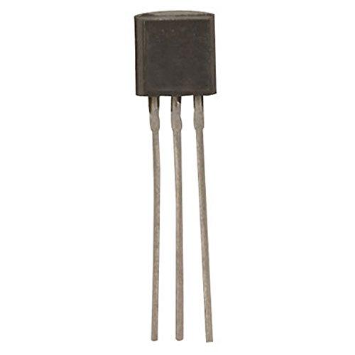 Major Brands PN2907 General Purpose BJT PNP Transistor, 40 Volt, 0.6 Amp, 3-Pin TO-92, 5.33 mm H x 4.19 mm W x 5.21 mm L (Pack of 50) by MAJOR BRANDS