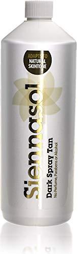 1 Litre Siennasol Dark 12% DHA Spray Fake Tan Solution 12% DHA
