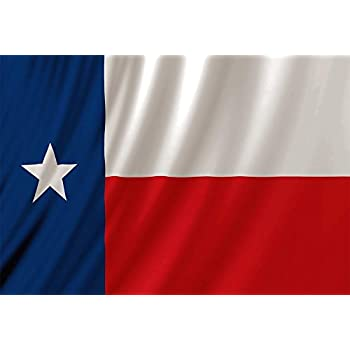 Texas Flag Fabric Shower Curtain Lone Star Texan