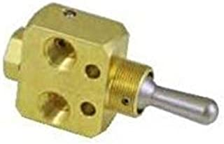 """product image for Clippard FBV-3DMPFH Fill and Bleed Valve, Detented/Momentary, Full Flow, 1/8"""" NPT"""