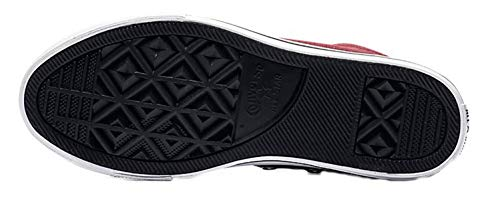 black 613 Converse Ctas Mid dark white Zapatillas De Niños Multicolor Unisex Burgundy Deporte Street 4OOqZnP