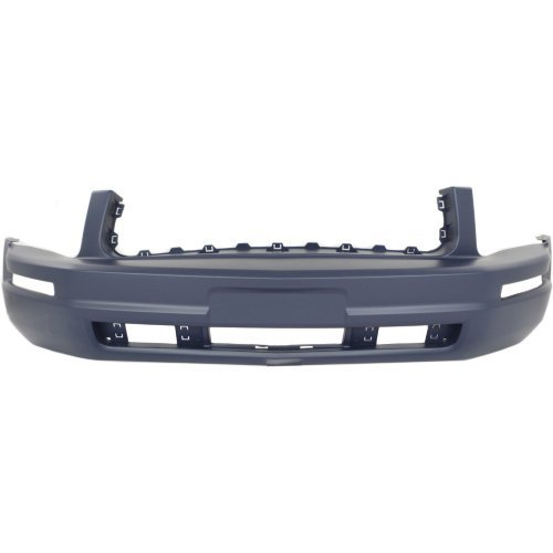 (Front Bumper Cover for FORD MUSTANG 2005-2009 Primed Base Model With Pony Package)