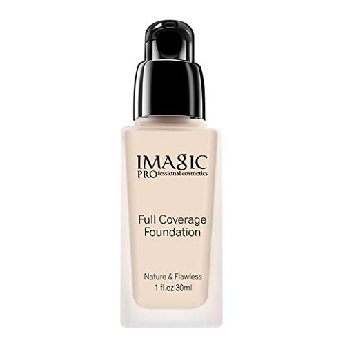 BXzhiri Fully Covered Liquid Foundation Waterproof and Lasting
