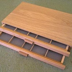 Art Alternatives Wood Pastel Box 2-drawer (Pastel Box The)