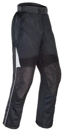 Tourmaster Venture Air 2.0 Men's Textile Motorcycle Pant (Black, Medium) by Tourmaster