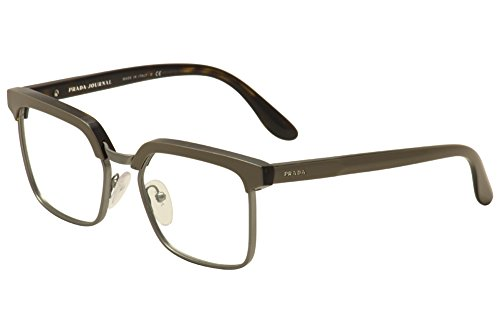 Eyeglasses Prada PR 15SV TV91O1 TOP - Square Grey Pr