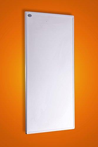 Fern Infrarot Heizung 600 Watt mit digitalem Thermostat -GS Tüv- extrem dünne Heizung (1cm) - deutscher Hersteller und vom Tüv Süd GS geprüft -neueste Technologie - 5 Jahre Herstellergarantie- Elektroheizung mit Überhitzungsschutz -Überprüft duch deutsche Ingenieurgesellschaft- Fern Infrarotheizung Heizt bis 18m² Raum