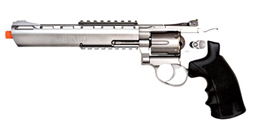 Black Ops Exterminator Full Metal Airsoft Revolver 8