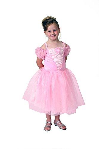 Pink Princess Dress (Girls Pink Tea Party Princess Dress Size 4/6)