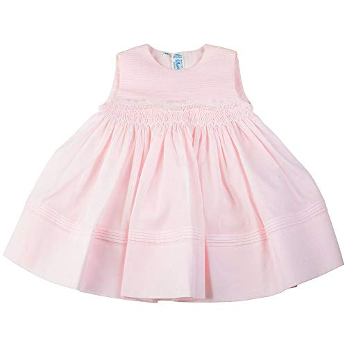 Girls Pink Sleeveless Portrait Dress Feltman Brothers (24M)