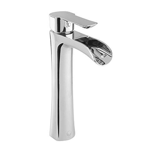 VIGO Niko Single Lever Vessel Bathroom Faucet, Chrome by Vigo