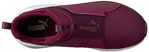 PUMA Women's Fierce Quilted Cross-Trainer Shoe Magenta Purple/Puma White sale Inexpensive best place online JArvd7G