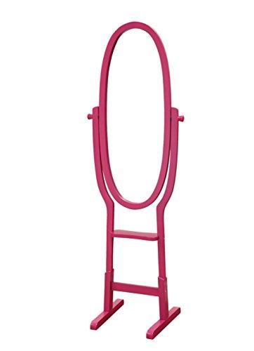 Cheval Childs Mirror (Frenchi Home Furnishing Kid's Mirror Stand, Purple)