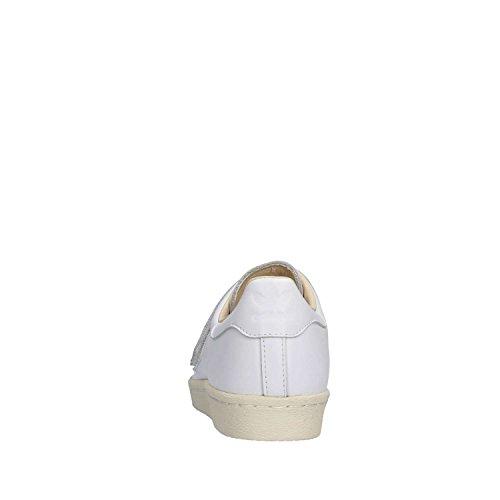 adidas Superstar 80s CF W, Zapatillas de Gimnasia Para Mujer Blanco (Footwear White/footwear White/linen 0)