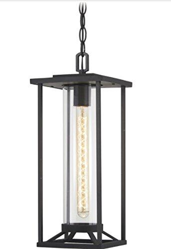 Black 1-Light 60 Watts Minka Lavery Outdoor Pendant Lighting 72474-66 Trescott