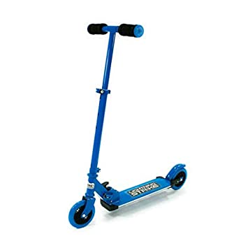 Ozbozz SV12711 - Patinete con Luces activadas por Movimiento, Color Azul