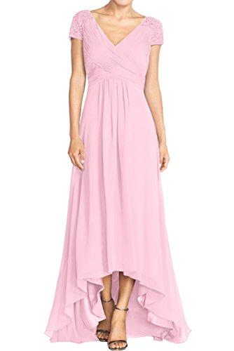 Ivydressing - Vestido - trapecio - para mujer Rosa 42