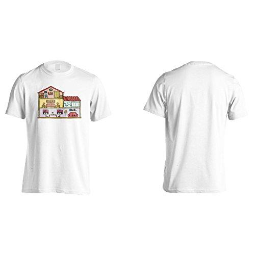 Neue Heimat Innenhand Gezeichnet Herren T-Shirt m540m