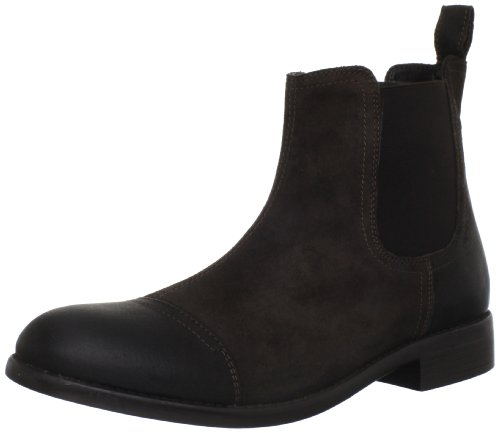 Clarks Mens Clarks Wallace Cap Boot Brown