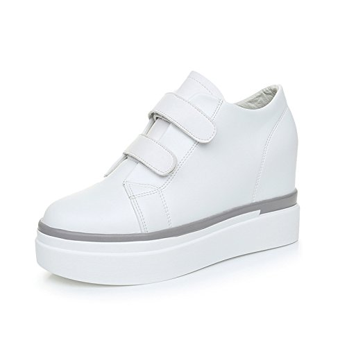 GTVERNH-Die GTVERNH-Die GTVERNH-Die Zunahme Der Weiße Schuhe Hochhackige Schuhe Plateauschuhe 4Cm Casual Schuhen,36,Weiße - 9d5184