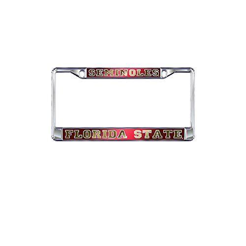 Florida State University Seminoles Mirror Domed License Plate Frame Collegiate Florida State University
