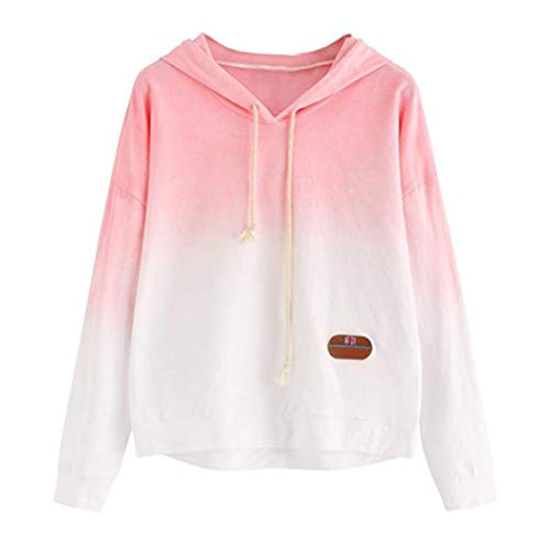 Hooded sweatshirt, Misaky cool grey/black/ pink/white/ red graphic pullover hoodies by Misaky women top
